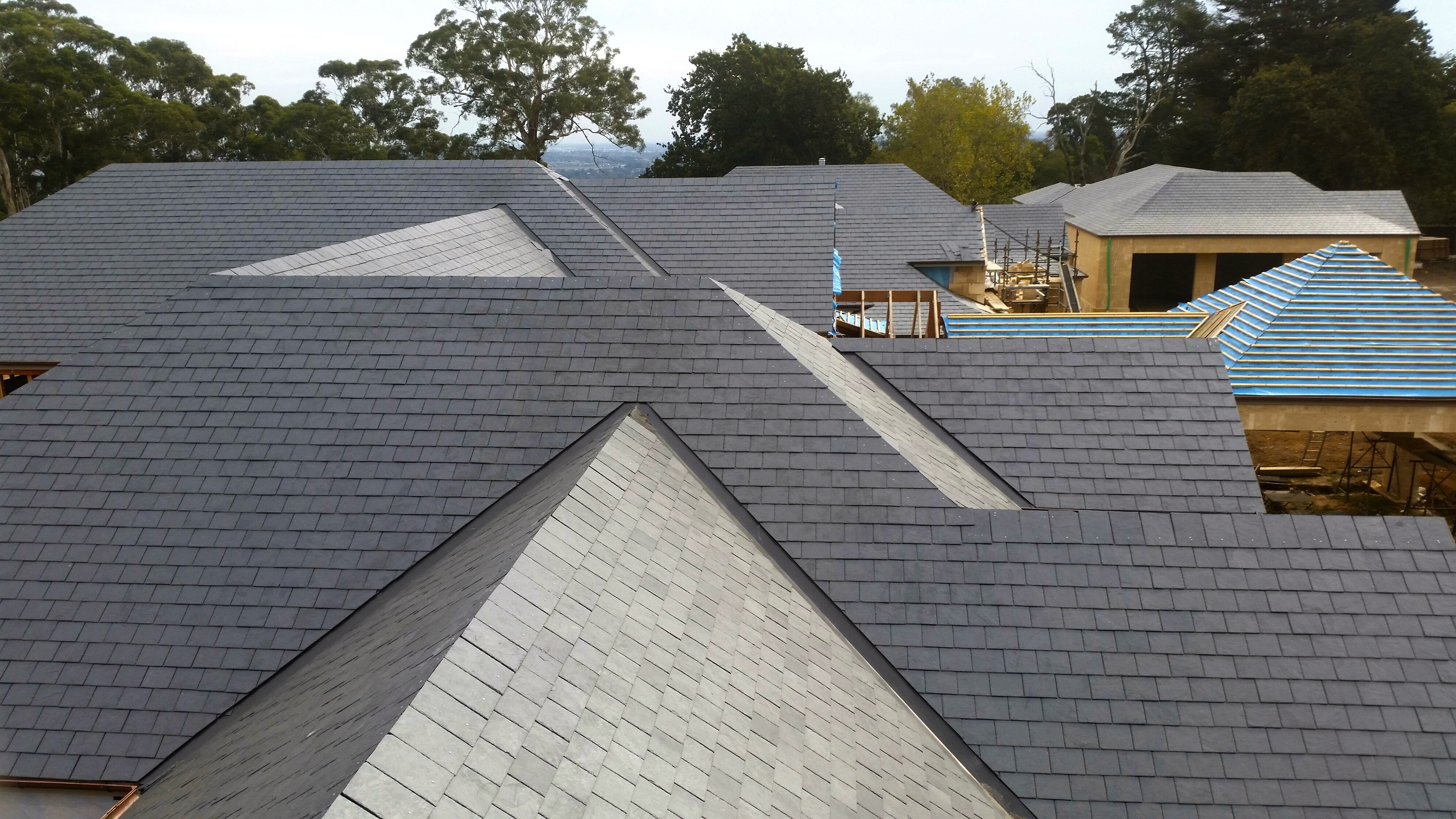 Slate Roofing Melbourne Domestic slate roofing
