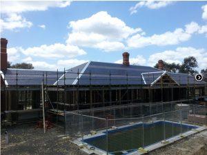 Slate Roofing Melbourne Patterned slate restoration
